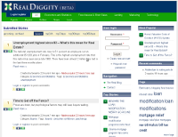 """RealDiggity.com – """"Digg-like"""" Website For Realtors"""