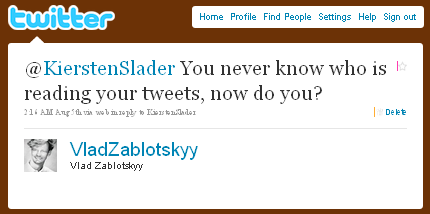 Vlad Zablotskyy on Twitter